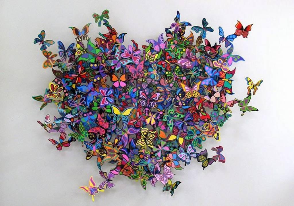 Картинки из бабочек