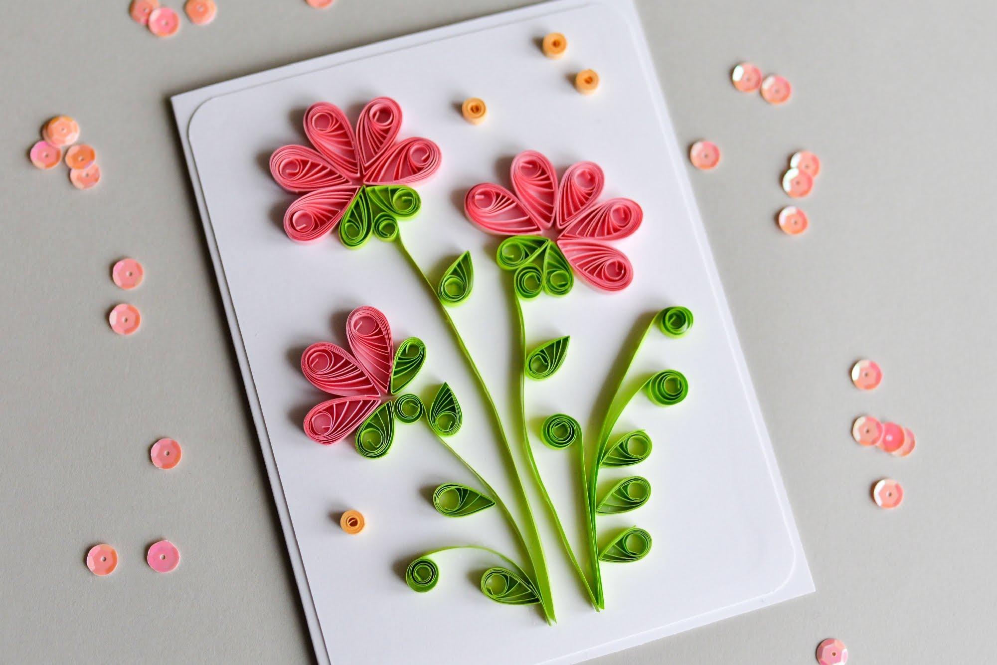 Открытки из бумаги для детей простые, юбилеем красивые